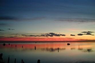 laguna tramonto