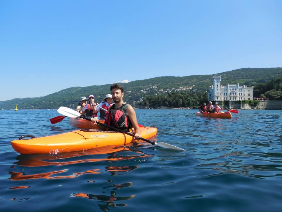 canoa snorkel miramare