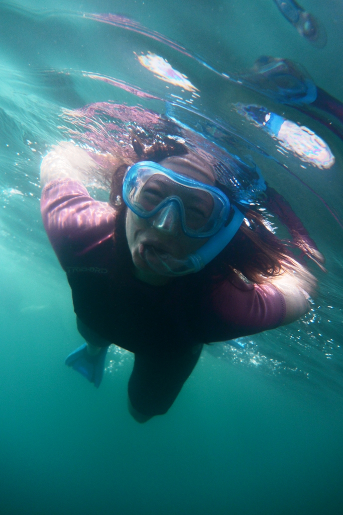 snorkeling canoa miramare