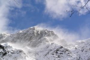 Ciaspolata in montagna