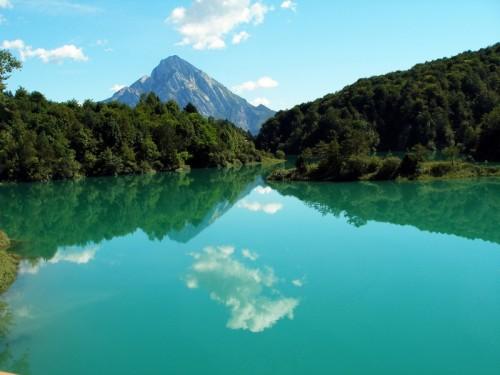 barcis lago canoe