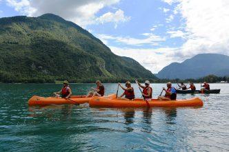 canoa lago di cavazzo