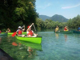Soca canoe