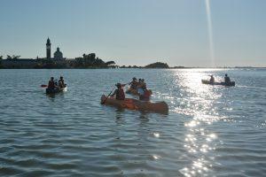 Barbana e canoe