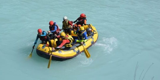rafting cellina
