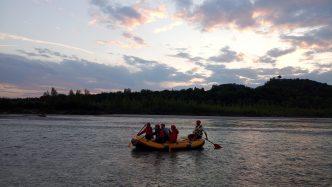 night rafting tagliamento