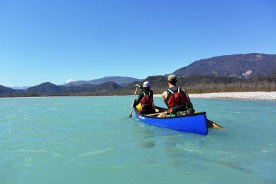 tagliamento in canoa