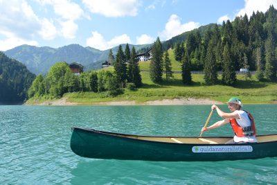 sauris in canoa